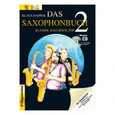 Klaus Dapper - Das Saxophonbuch Band 2, in Tonart Eb (Es)