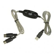 USB - Midi Kabel Adapter - Midi Interface