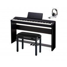 Casio PX-160 BK Privia in schwarz Home Bundle