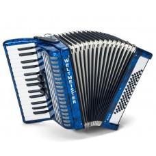 Weltmeister Piano Akkordeon Rubin 30/60/II/3 in blau