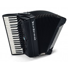 Weltmeister Piano Akkordeon Supita II Meisterinstrument 41/120/IV/11/5 schwarz