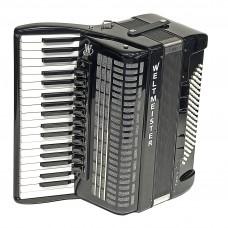 Weltmeister Piano Akkordeon Topas IV schwarz