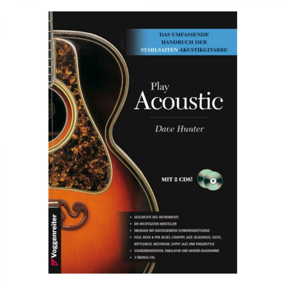 Gitarrenschule akustische Gitarre