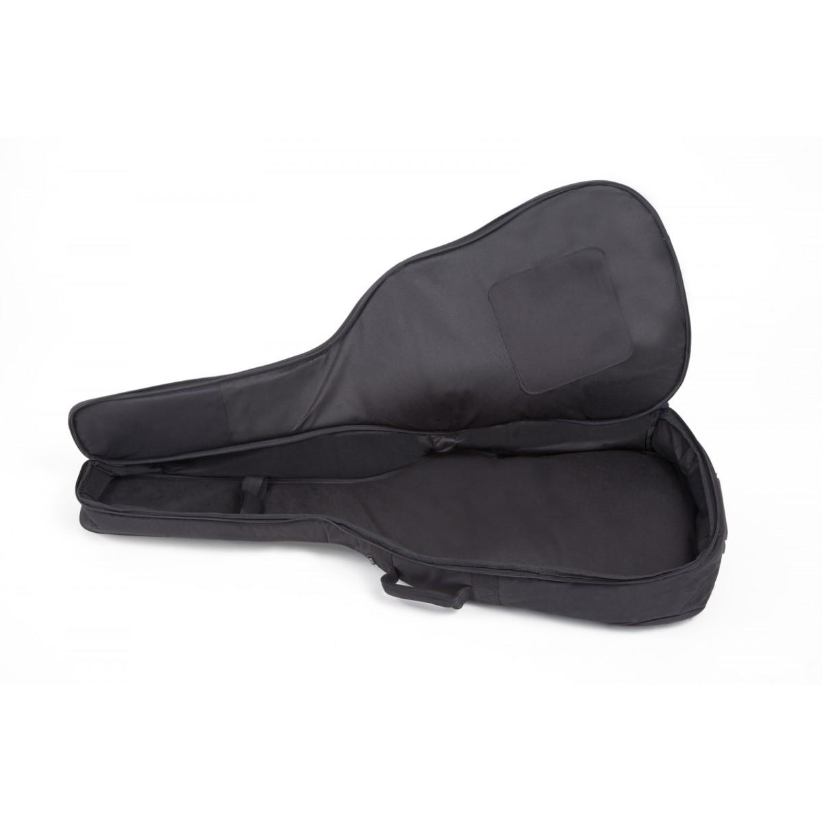 grau-schwarz Tasche für 4//4 Westerngitarre 10 mm Polsterung