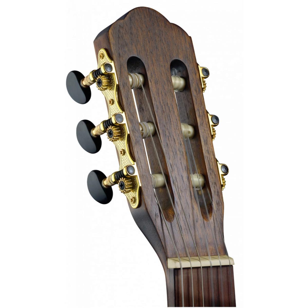 massive Fichtendecke SIL-CE HG Silvera Serie 4//4 mit Preamp klassische Gitarre