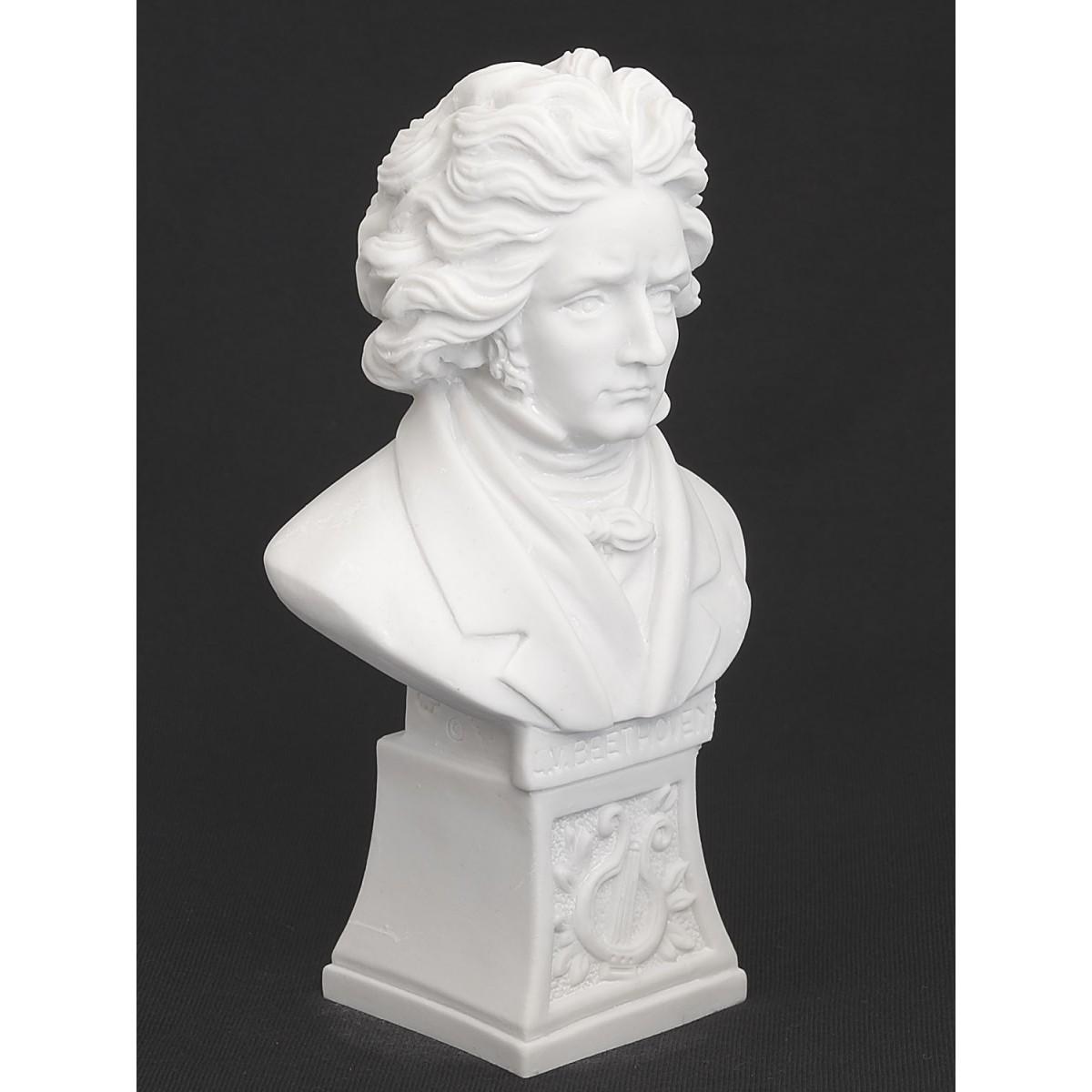 Beethoven Büste weiss
