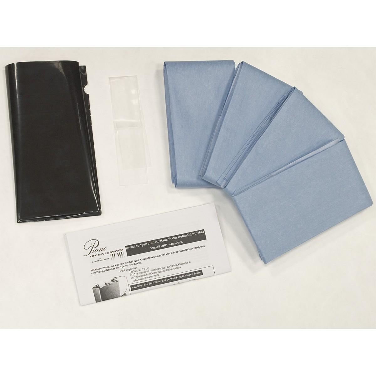 Dampp Chaser Life Saver System Papier Tücher + Folie