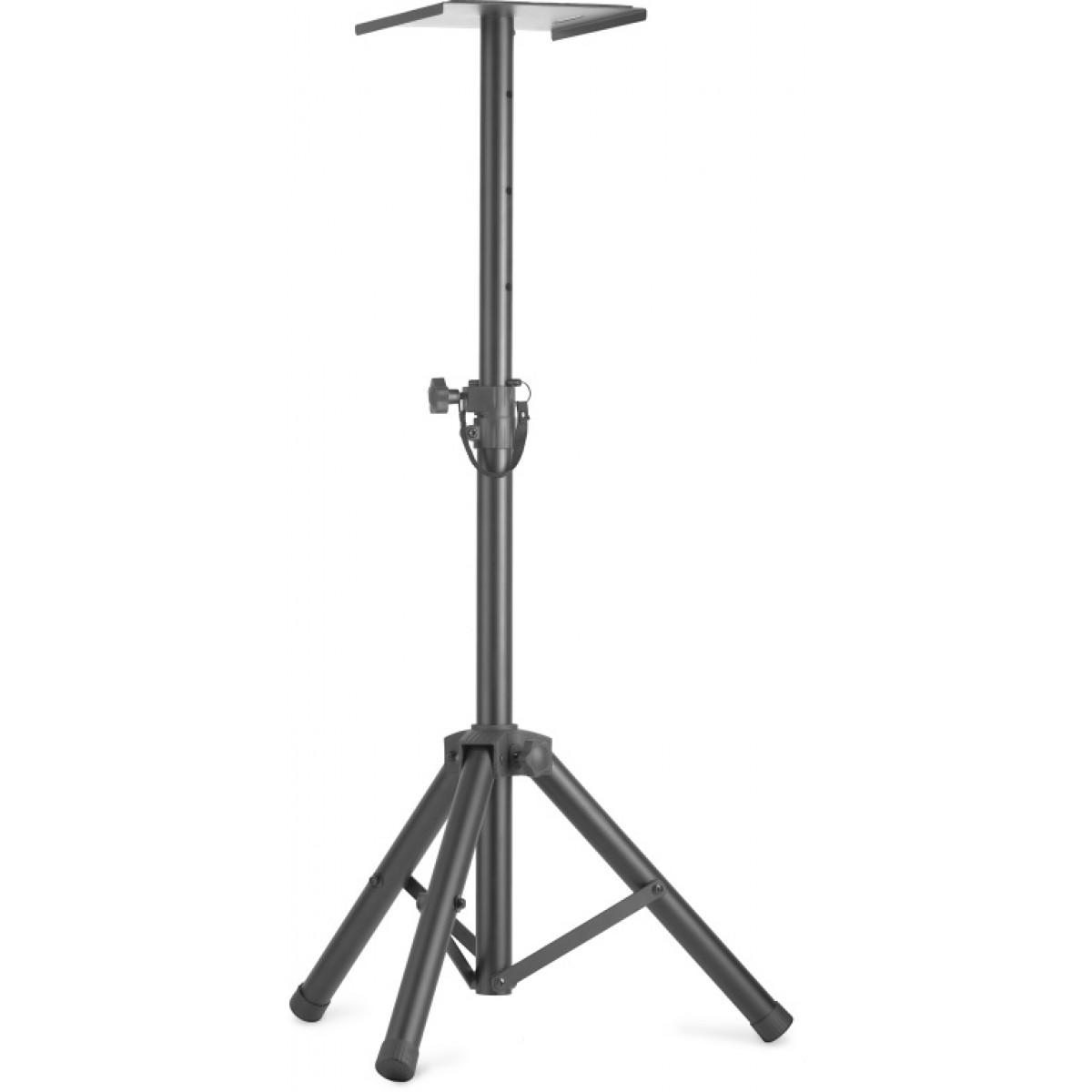 oder Lichtstative mit einklappbaren Beinen Zwei höhenverstellbare Monitor