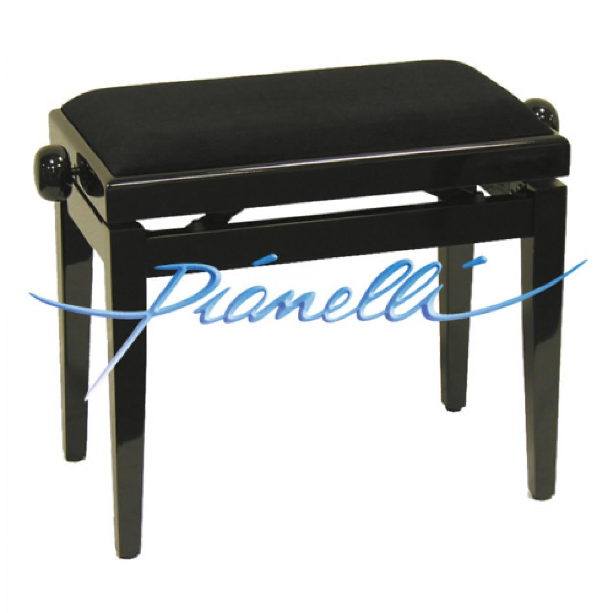 Klavierbank schwarz