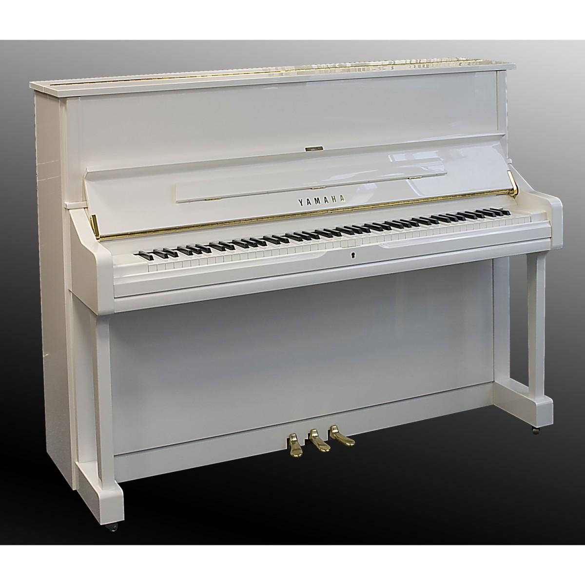 Yamaha U1 Klavier weiss