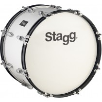 "26"" x 10"" Marching Bass-Drum weiss, Stagg"