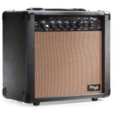 15W Akustik-Gitarrenverstärker mit digital Reverb