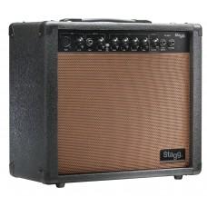 20 W RMS Akustik-Gitarrenverstärker m. Federhall, Stagg