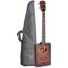 Zigarrenkiste-Akustikgitarre mit 4 Saiten, Cigar Box