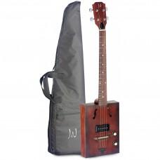 Elektro-Akustik Zigarrenkisten-Gitarre mit 4 Saiten, Cigar Box
