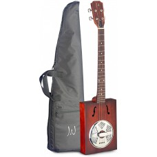 Resonator Zigarrenkiste-Akustikgitarre mit 4 Saiten, Cigar Box