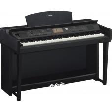 Digitalpiano Yamaha Clavinova CVP-705 B schwarz matt Set