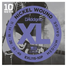 Daddario EXL115-10P Saiten für E-Gitarre