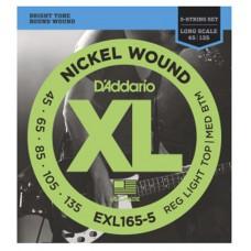 DAddario EXL165-5 Saitensatz für E-Bass