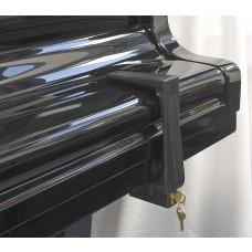 Bügelschloss, Klappenschloss, 15 cm, Kunststoff