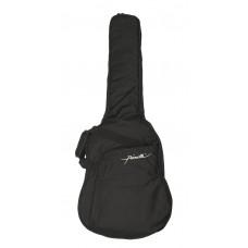 Tasche für 4/4 Konzertgitarre, schwarz, 10 mm Polsterung, Gitarrentasche, Gigbag