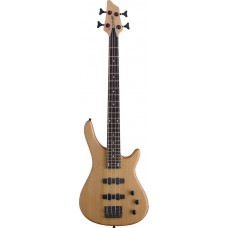 "4-saitige ""Fusion"" 3/4 Modell E-Bassgitarre, Stagg, Natur"