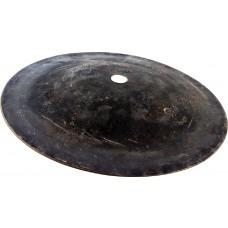 """7""""/ 178 mm Black Metal Bell , leicht"""