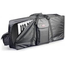 Keyboard Tasche, schwarz, 130 x 43 x 15 cm, 10 mm Polsterung