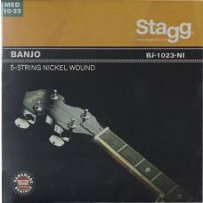 Vernickelter  Saitensatz für 5-saitiges Banjo