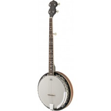 5-saiten Bluegrass Deluxe Banjo mit Metall-Kessel, Linkshänder Modell