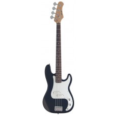 E-Bassgitarre, 4 Saitig, P250 in schwarz