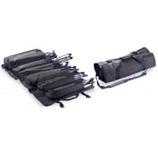 Stagg strapazierfähige Nylon-Falttasche für 4 Beckenständer + 2 diverse