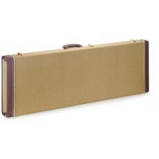 Gold Tweed Koffer für E-Gitarre