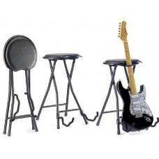 Stagg zusammenklappbarer Hocker+Gitarrenständer