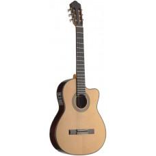 Thinbody klassische Gitarre massive Fichtendecke Fishman TA