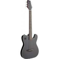 E-Folkgitarre, Solidbody m. Cutaway