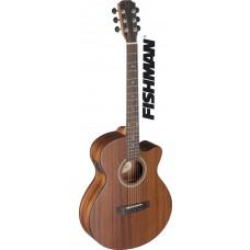 Deveron Serie, e.a.  Auditorium-Gitarre m/ massiver  Mahagoni-Decke