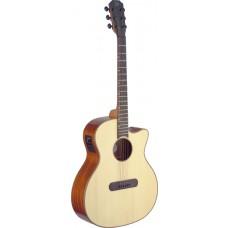 Lismore Series e.a. Auditorium-Gitarre m. Cutaway u. massiver Fichtendecke