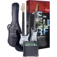 Surfstar E-Gitarre + Verstärker Pack,