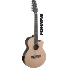 Mini-Jumbo, 12-Saiter Westerngitarre mit FISHMAN Preamp, Natur Hochglanz