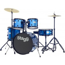 """20"""" Drumset, komplett, blau"""