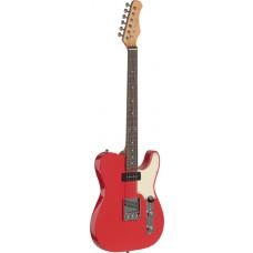 Vintage Custom E-Gitarre in Fiesta Rot