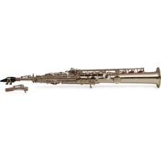 B-Sopran Saxophon, gerader Korpus, im Softcase