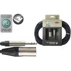 10M/33F AUDIO CABLE XLRm-ST PL