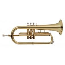 B-Flügelhorn, im Softcase