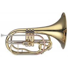 Marching Frenchhorn in B, 3 Perinet-Ventile, im Softcase