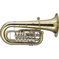 F Tuba, 6 Drehventile, im Softcase mit Rollen