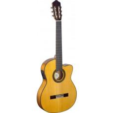 Flamenco Gitarre, Zypresse mit Tonabnehmer