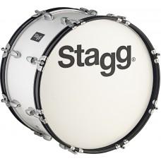 """18"""" x 10"""" Marching Bass-Drum mit Gurt & Schlegel"""