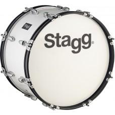 """20"""" x 10"""" Marching Bass-Drum STAGG mit Gurt & Schlegel"""